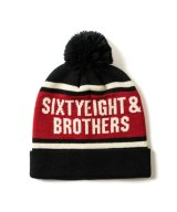 "Bon Bon Knit Cap ""SIXTYEIGHT"""