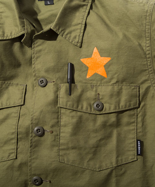 "画像: ARMY CPO Shirts ""68Logo by Puts"""