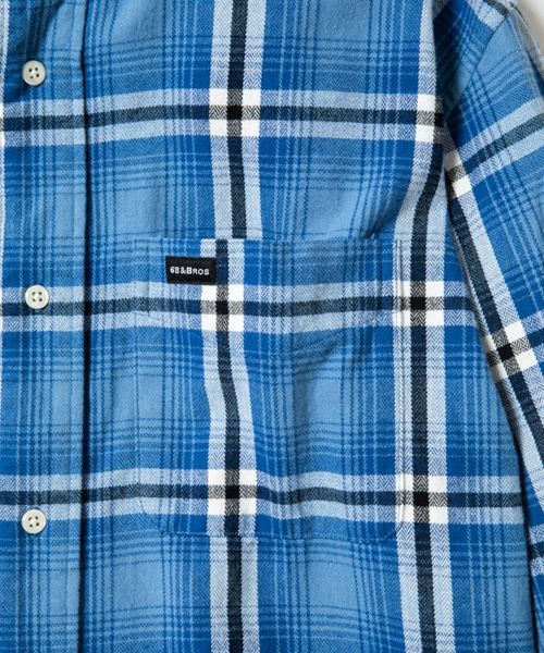 画像: Flannel Plaid B.D Shirts