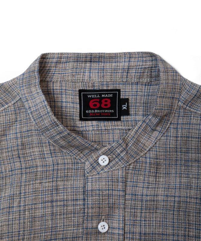 画像: LS Band Collar Shirts Big Silhouette